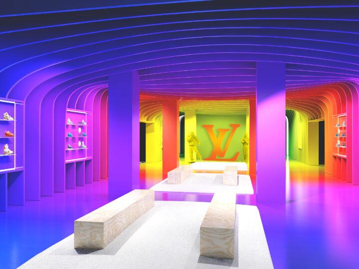 Louis Vuitton presenta la colección Walk in the park en su nueva residencia temporaria en París