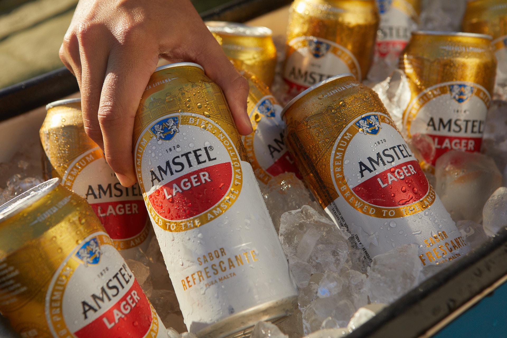 Llegó la nueva Amstel: una cerveza resfrescante para todos #NuevaAmstel