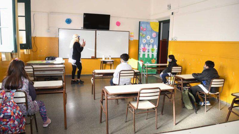 Las clases presenciales en Buenos Aires serán por bloques semanales