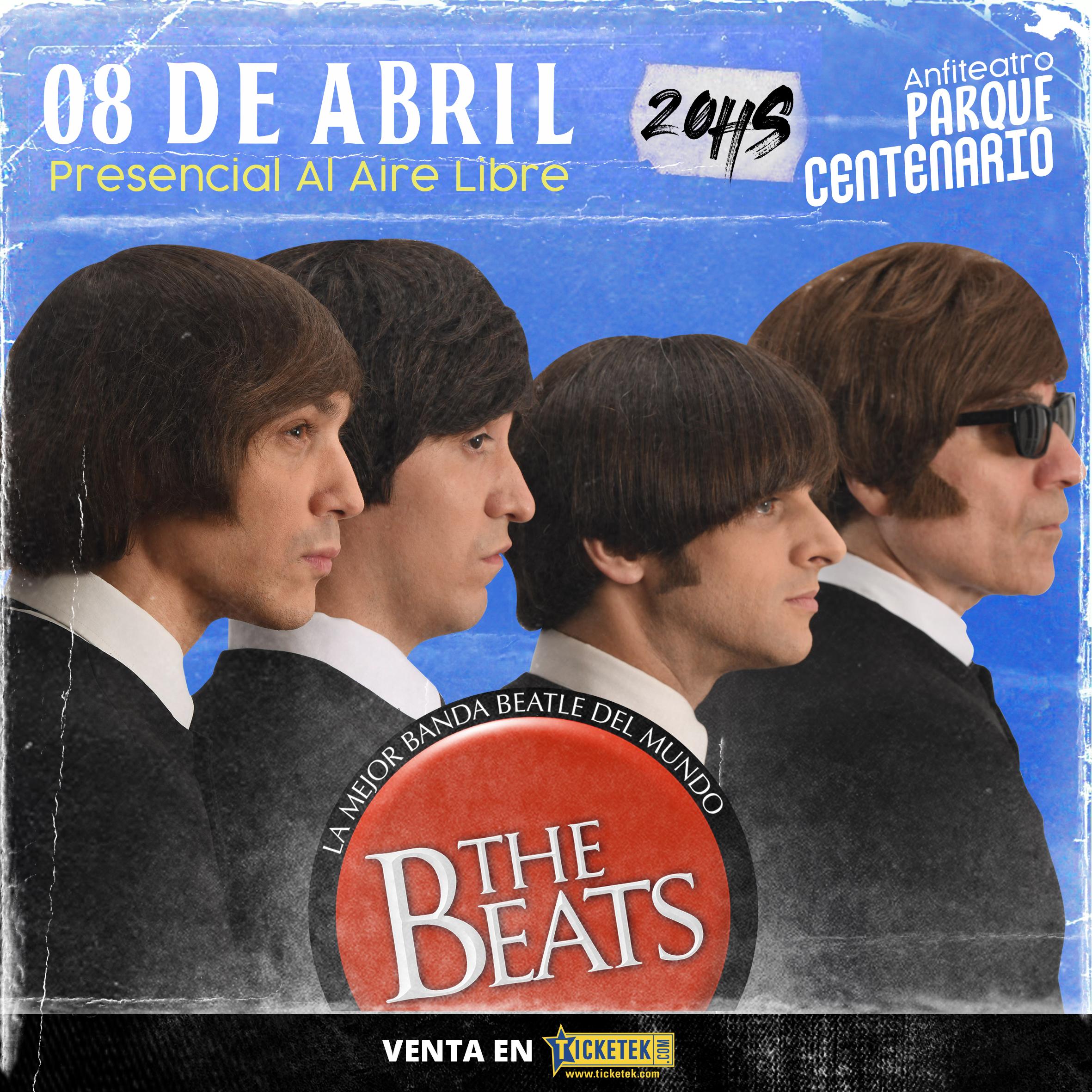 """THE BEATS"""" vuelve a los escenarios y brindará un show en vivo por única vez en el Anfiteatro del Parque Centenario"""