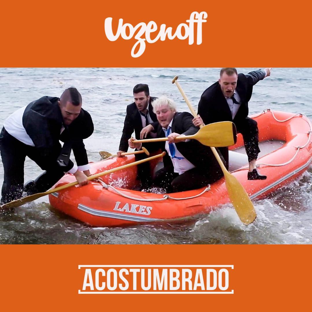 La banda fueguina VOZENOFF presenta 'Acostumbrado'