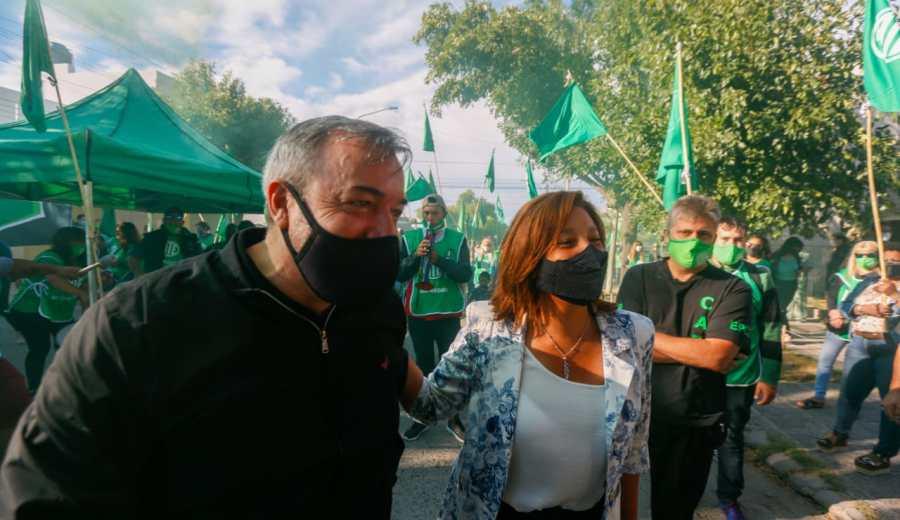 """Rodolfo Aguiar: """"Las mujeres van a conducir el destino de todas las actividades sindicales"""""""