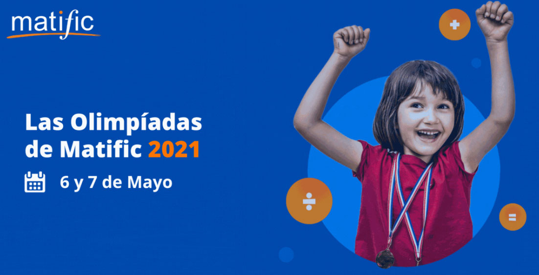 Se vienen las Olimpíadas de Matific 2021