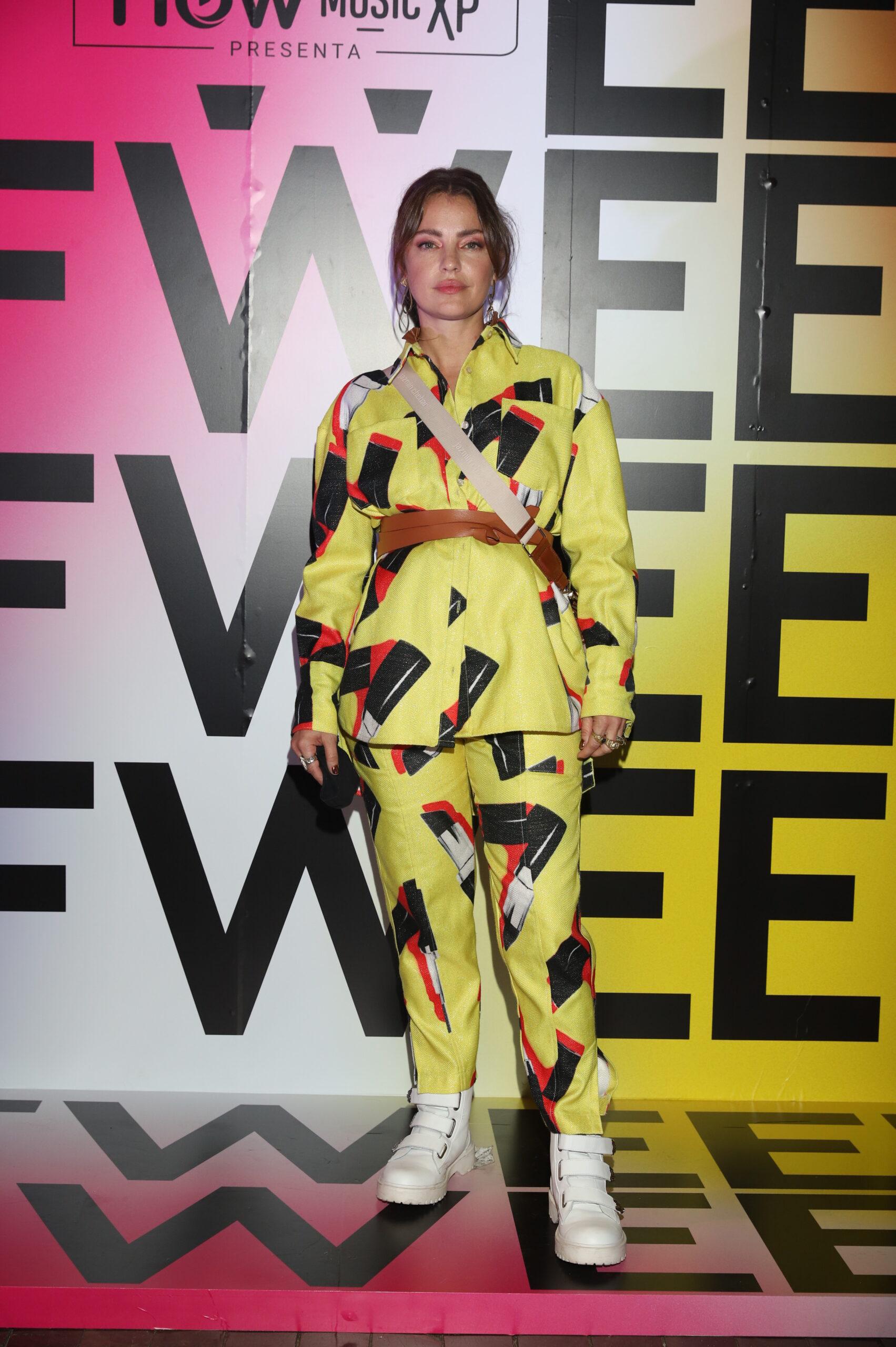Dolores Fonzi en el Buenos Aires Fashion Week 2021