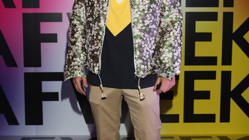 Nico Furtado en el Buenos Aires Fashion Week 2021
