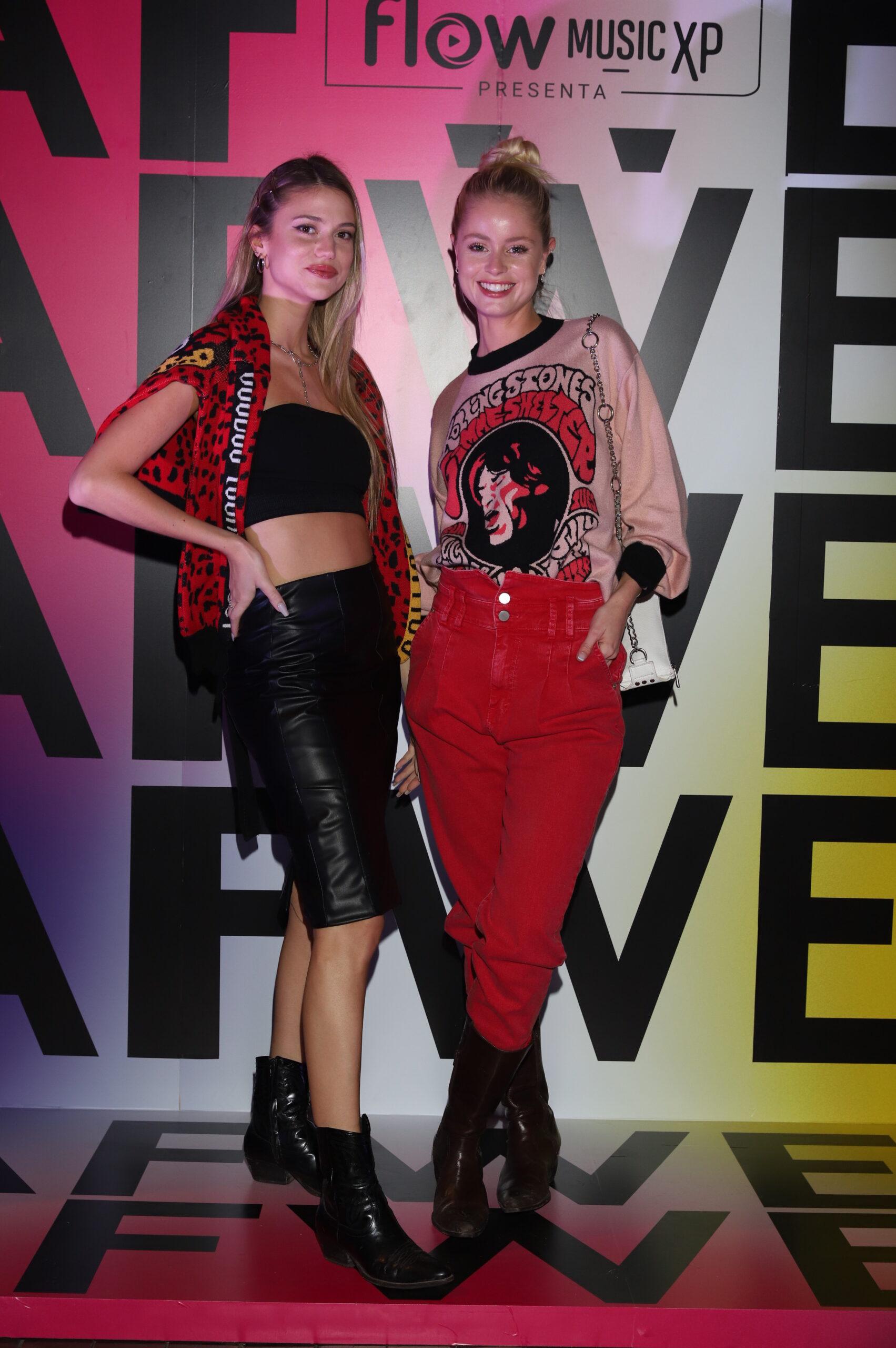 Olivia Wald y Violeta Bassetto en el Buenos Aires Fashion Week 2021