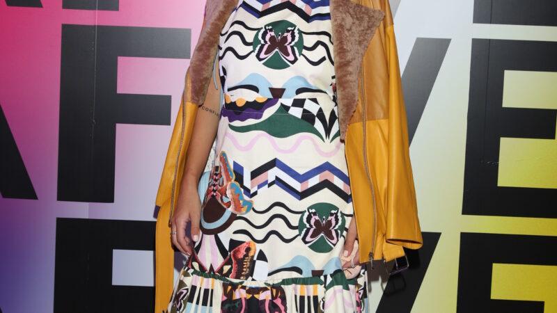 Thelma Fardin en el Buenos Aires Fashion Week 2021