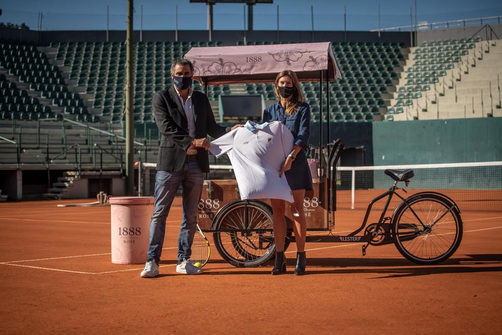 Sidra 1888 junto al mejor tenis del país
