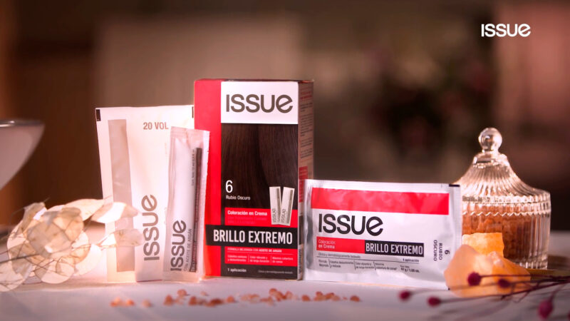 "ISSUE presenta ""Issue Brillo Extremo"""