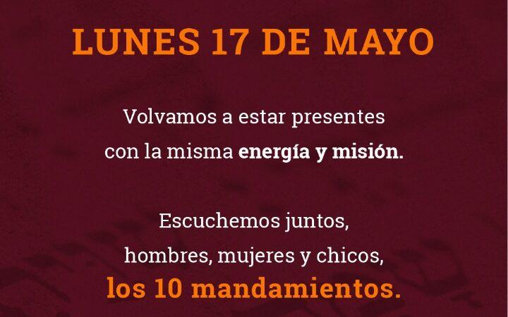 Festejo de Shavuot con lecturas de los 10 mandamientos en toda la Argentina