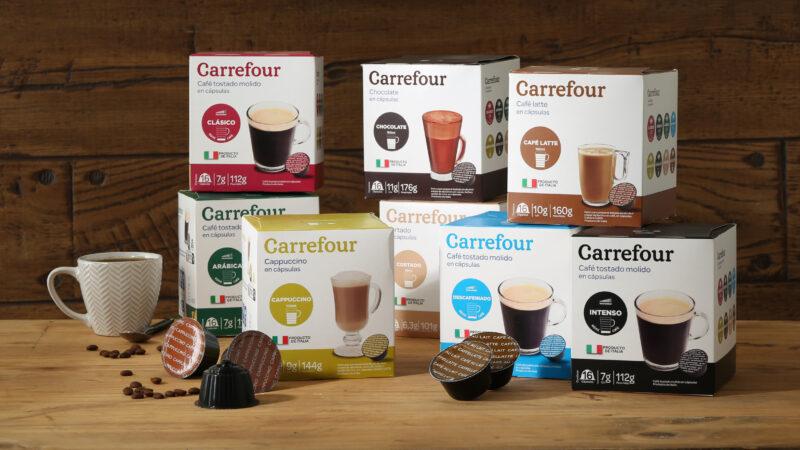 Carrefour presenta sus nuevas cápsulas de café compatibles