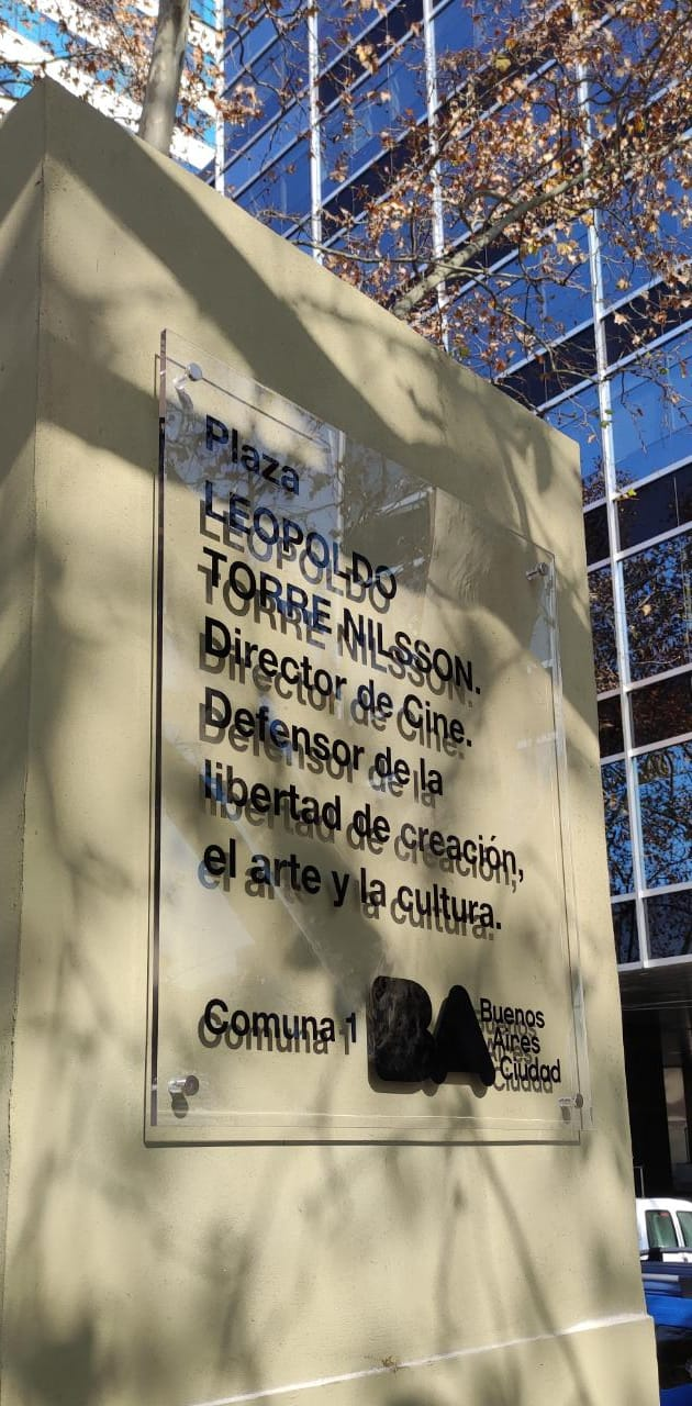 Se inaugurará la plaza Leopoldo Torre Nilsson en Puerto Madero