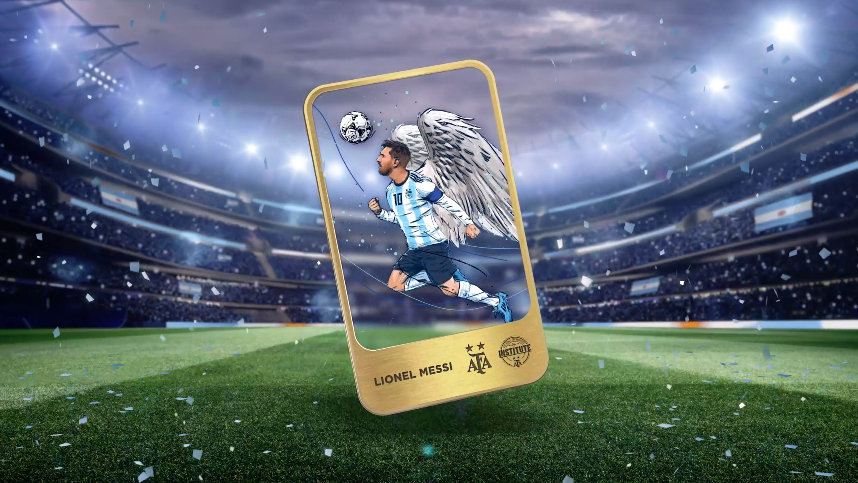 La Asociación Argentina de Fútbol presenta a todos los jugadores legendarios en una colección inaugural de NFT