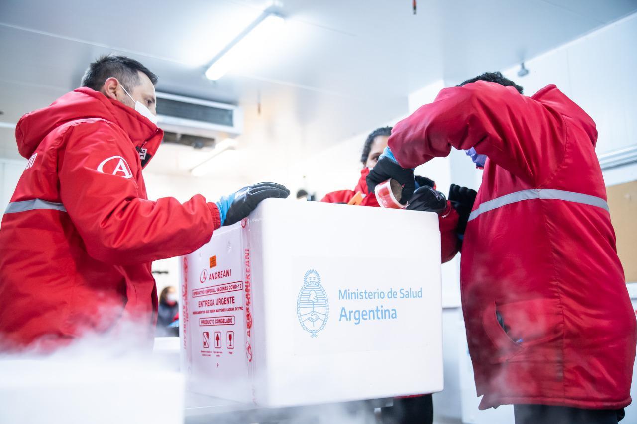 Avanza el Plan Estratégico de Vacunación contra el Covid-19: entre hoy y mañana se distribuirán en todo el país  1.536.000 dosis de Sinopharm