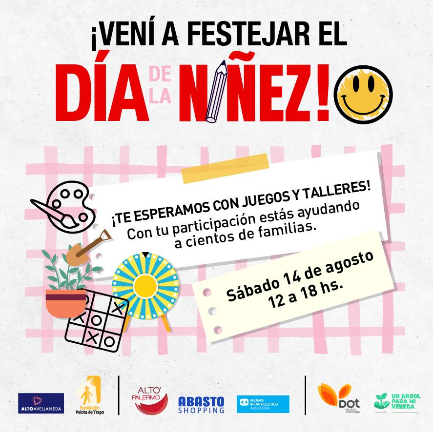 Los shopping de IRSA festejan el Día de la Niñez con talleres organizados junto a ONG´s