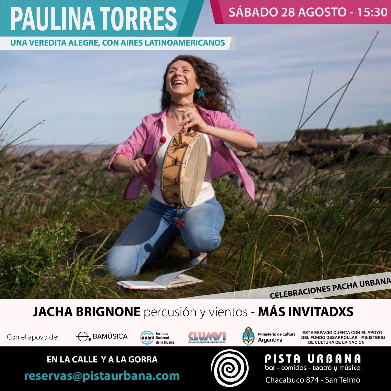 """Paulina Torres presenta """"Una veredita alegre"""""""