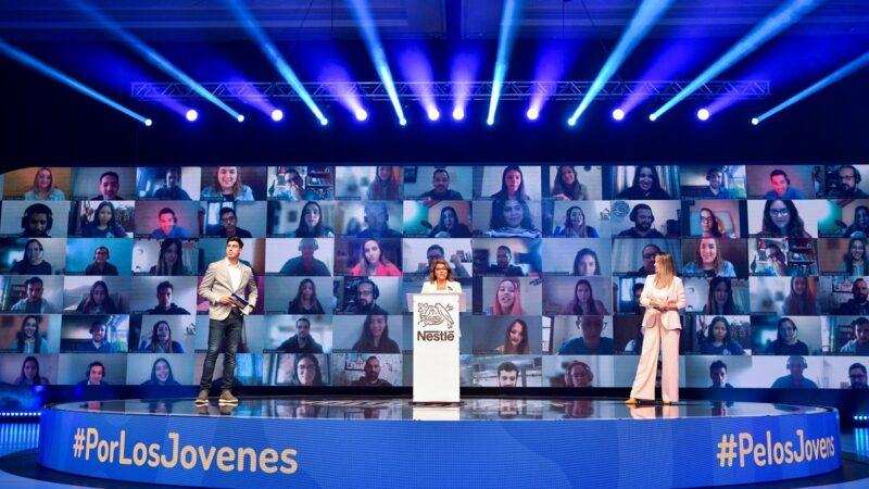 Nestlé, junto con 58 compañías, generaron más de 57.000 oportunidades de desarrollo profesional para los jóvenes del Mercosur, a pesar de la pandemia