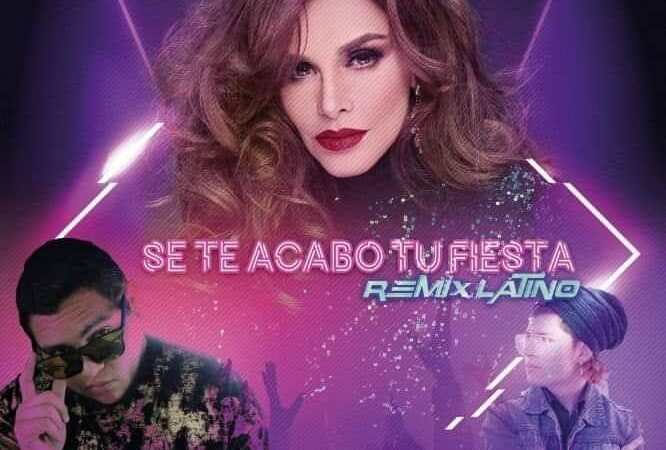 El cantante Mexicano JeyB pone a cantar reguetoon a la di a de México Lucía Mendez, acompañado de su colega Leo Valens
